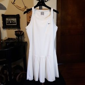 Nike tennis dress with pleated skirt